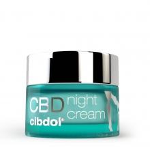 Crème de nuit au CBD