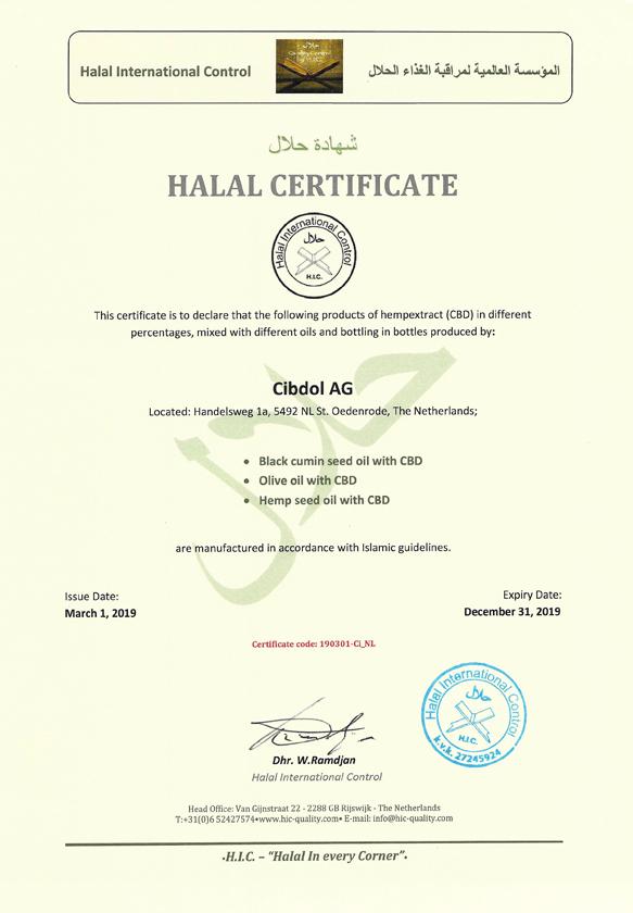 La certification Halal